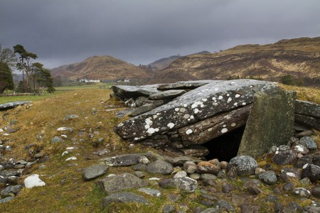 Nether Largie South Cairn, Kilmartin Glen, Scotland