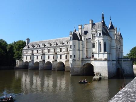 Chateau de Chenonceau in the Loire Valley