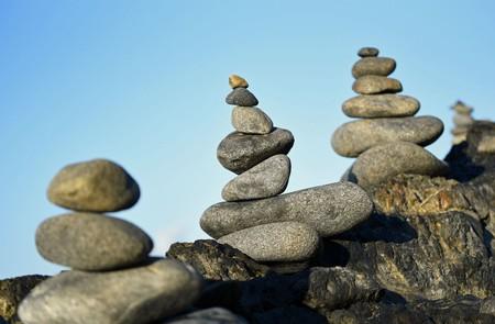 Balancing Stone Stacks