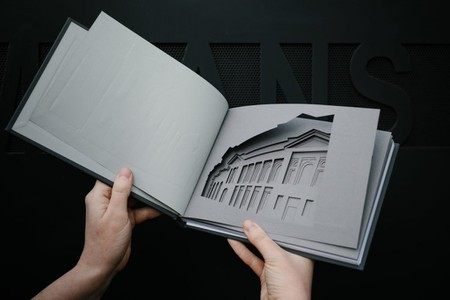 Bridgeton–Women's Library Sketchbook Designed By Finch & Fouracre, Bound By Downie Allison Downie, Laser-Cut By Flux Laser Studio