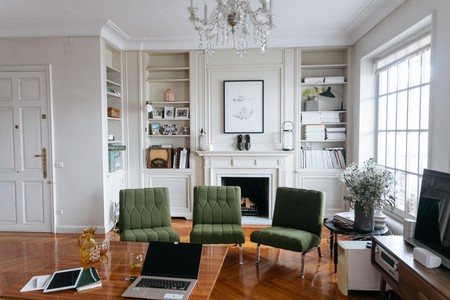 The designer's home in Madrid
