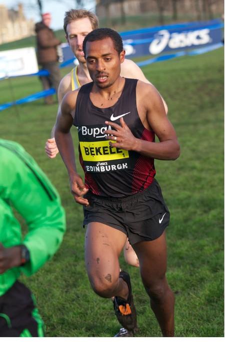 Ethiopian athlete Kenenisa Bekele