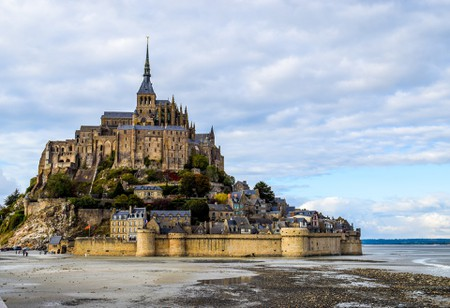 Mont-Saint Michel is one of France's most iconic monumental towns