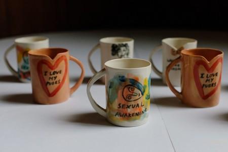 'SLOGAN MUGS' By Sally Hackett And Anna Lewandowska-Mirska For Glasgow Women's Library