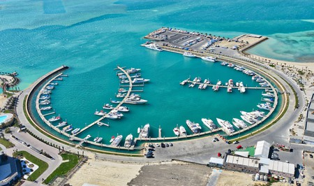 The marina at Bahrain's Amwaj Islands