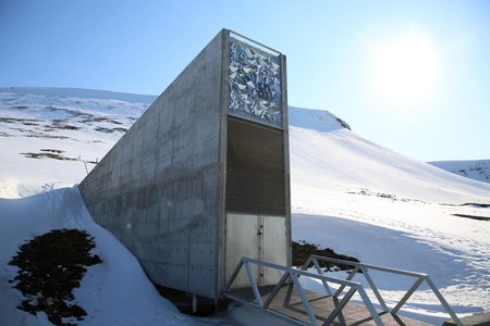 Svalbard Global Seed Vault, Courtesy of Global Crop Diversity Trust