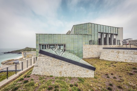 The Tate St Ives extension by Jamie Fobert
