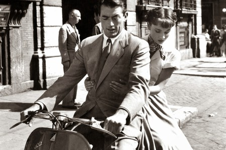 Roman Holiday film still