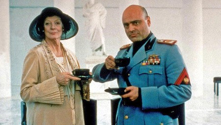 Tea with Mussolini film still