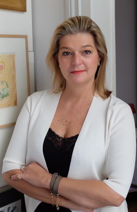 Beirut Art Fair founder Laure d'Hauteville