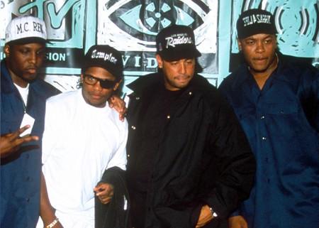 N.W.A at the MTV Awards