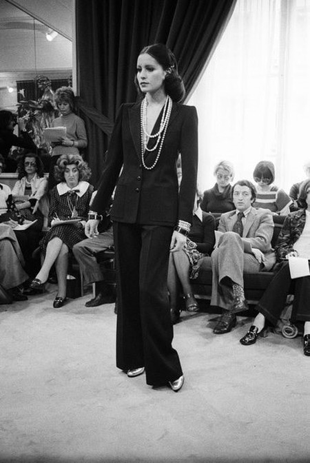 f4dd7397244 YSL Rive Gauche Fall 1972 RTW, Paris. Mandatory Credit: Photo by Reginald  Gray/Penske Media/REX/Shutterstock (6987114a
