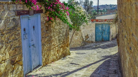 psematismenos village cyprus