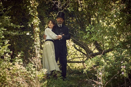 Keira Knightley and Dominic West in 'Colette'