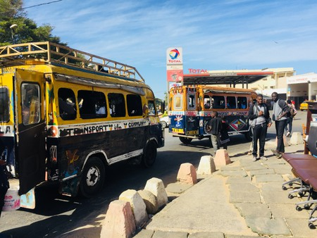 Two Car Rapides in Ouakam, Dakar. Are their days numbered?