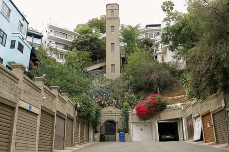 High Tower In Hollywood Heights Was Built Around 1920