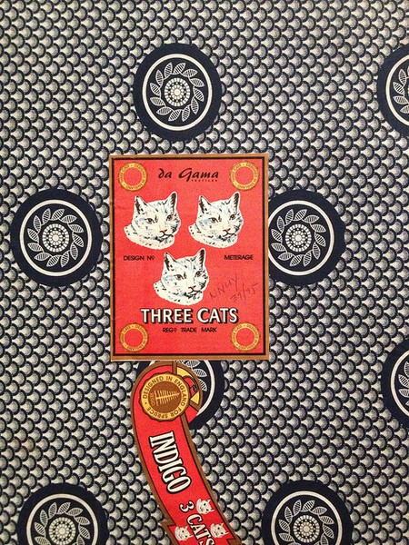 'Three Cats' pattern at the British Museum