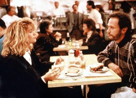 Meg Ryan, Billy Crystal in When Harry Met Sally - 1989.
