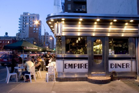 Empire Diner, New York, USA.
