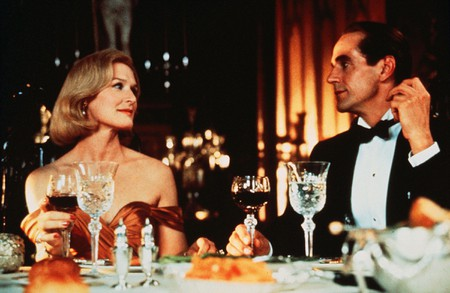 Glenn Close and Jeremy Irons in Reversal Of Fortune - 1990.
