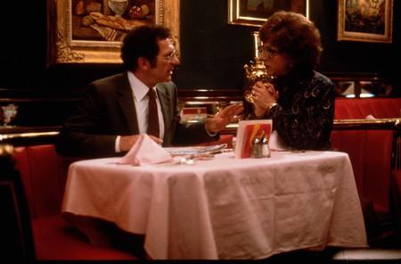 Sydney Pollack and Dustin Hoffman inTootsie - 1982.