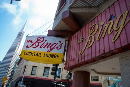 Mr Bings cocktail lounge, Chinatown, San Francisco