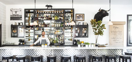 Bartender at Marlowe in San Francisco, California