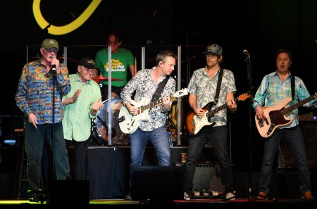 The Beach Boys in concert at the Seminole Hard Rock Hotel and Casino, Hollywood