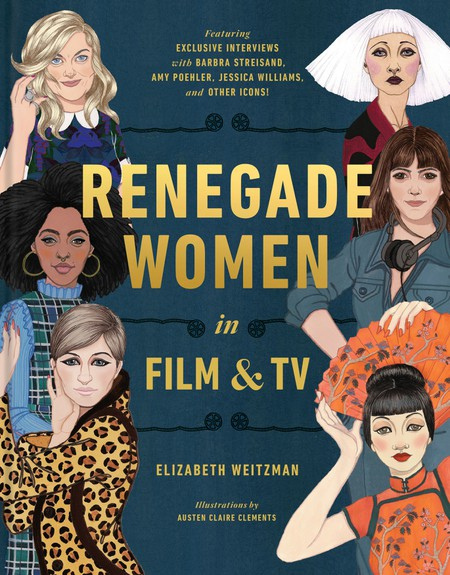 Book Cover. Renegade Women in Film and TV.