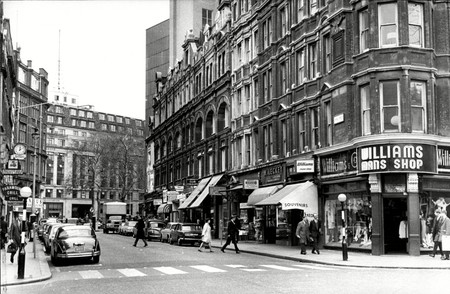 Irving Street, leading to Leicester Square, London, U.K.