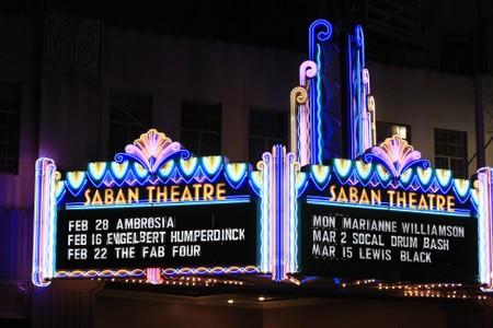 Saban Theater, Beverly Hills, LA