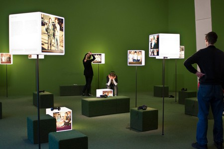 An exhibit at the Jewish museum, Berlin Germany.