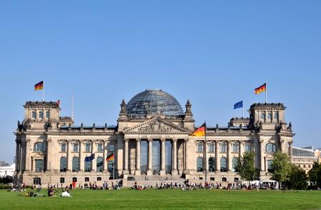 The Reichstag, Berlin.