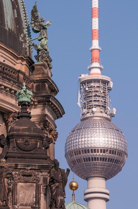 TV Tower, Alexanderplatz, Berlin.