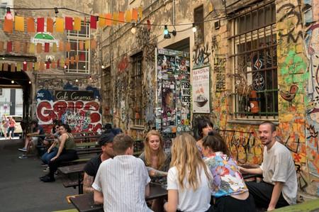 Haus Schwarzenberg Street art hotspot
