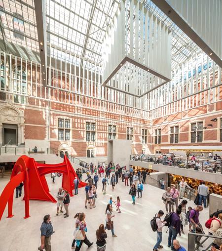 Inside Rijksmuseum Amsterdam.