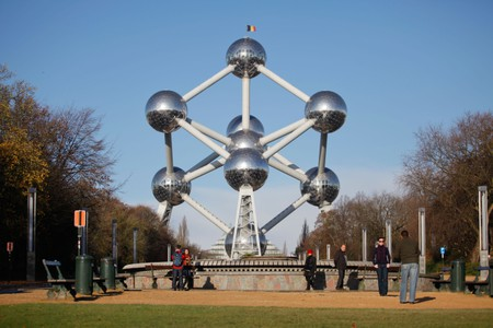 Take a stroll to the Atomium