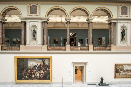 The Royal Museums of Fine Arts contains masterpieces by Flemish artists
