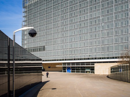 The Berlaymont houses the European Commission
