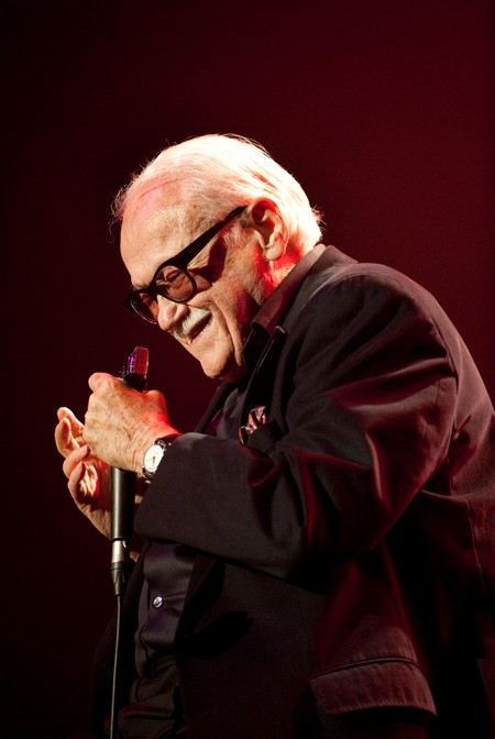 Toots Thielemans performs at BOZAR in Brussels