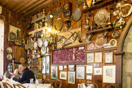 Greece Kalambaka Restaurant Meteora