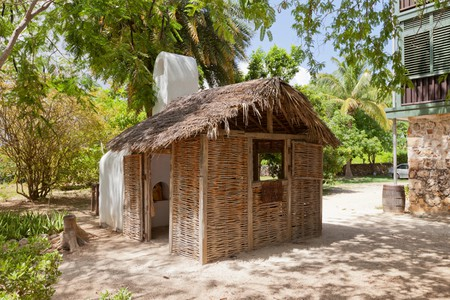 Traditional kitchen of Pedro St. James Castle on the Cayman Islands (British Overseas Territory)