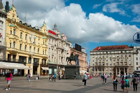 Ban Jelacic Square, Lower Town, Zagreb, Croatia