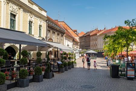 Street Bars on Vlaska, Zagreb, Croatia