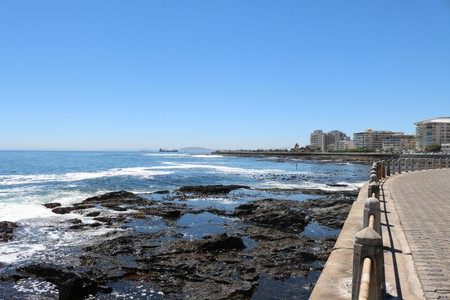 Sea Point promenade, Cape Town, South Africa