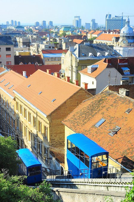 Zagreb Funicular. Image shot 05/2014. Exact date unknown.