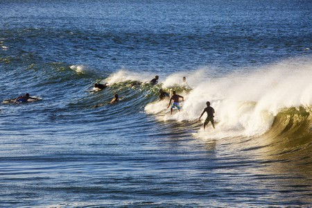 Surfers Byron Bay, NSW, Australia