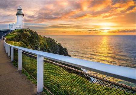 Sunrise at Cape Byron Lighthouse