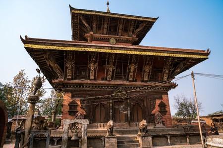 Changu Narayan Temple in Kathmandu Valley, Nepal