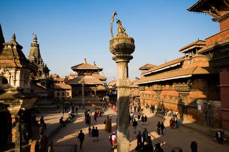 Patan Museum in Durbar Square, Kathmandu, Nepal.